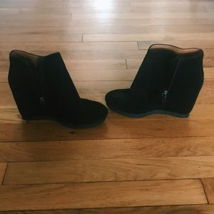 Nine West 'Blacklight' Hidden Wedge Bootie